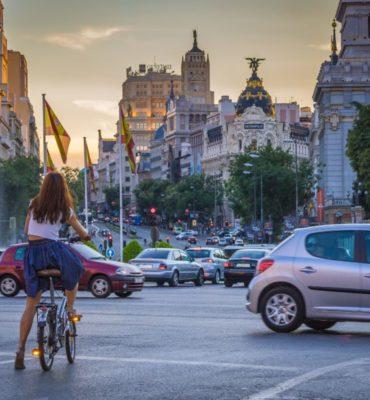 en bici por Madrid Rent&Roll