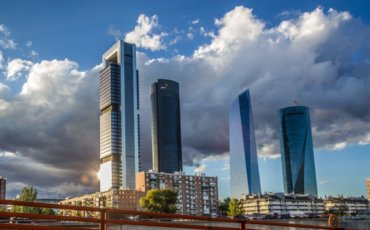 4 torres Rutas urbanas en bicicleta Madrid
