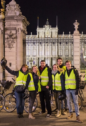 Night tour Madrid