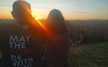 puesta de sol rentandroll