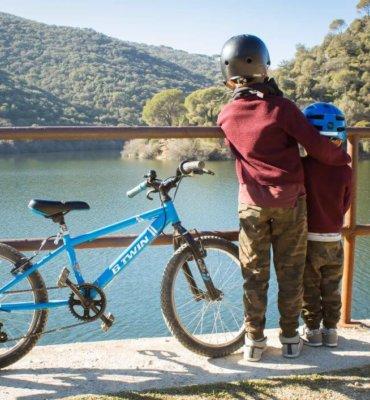 rutas en bici para hacer con niños en madrid
