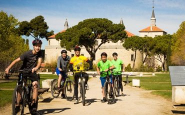rutas en bici con niños